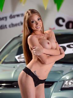 Fotos eróticas desnudas de Busty.